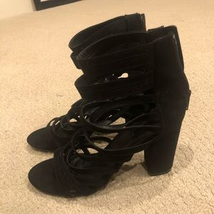 Strappy heels from forever 21